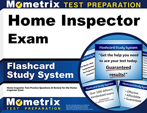 Home Inspector Exam Flashcard Study System: Home Inspector Test Practice Questions & Review for the Home Inspector Exam (Cards)