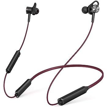 TaoTronics ブルートゥース イヤホン Bluetooth 4.1 スポーツ イヤホン マグネット内蔵式 ヘッドホン ワイヤレス ヘッドセット aptX対応 IPX5 防水仕様 7時間連続再生 TT-BH16
