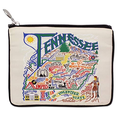 Catstudio Tennessee Zipper Pouch Purse | Holds Your Phone, Coins, Pencils, Makeup, Dog Treats, Tech Tools