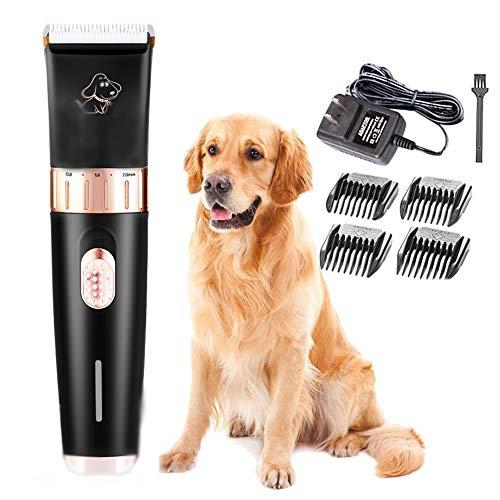 CNMGB Pet Hair Clipper Professionele draadloze, oplaadbare beauty-scheermes-kit voor honden, katten en konijnen
