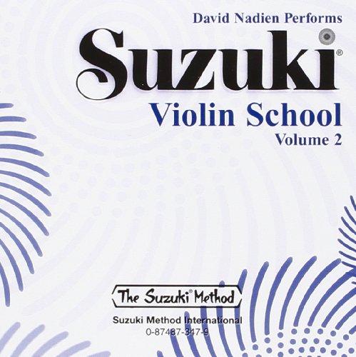 Suzuki Violin School CD, Volume 2 CD viool uitgevoerd door David Nadien