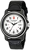 Victorinox Men's 249086 Original XL Analog Display Swiss Quartz Black Watch