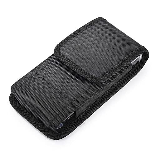 K-S-Trade Holster Gürteltasche Kompatibel Mit Sharp Aquos R3 Holster Gürtel-Tasche Wasserabweisend Handy-Hülle Schutz-Hülle Outdoor Schwarz