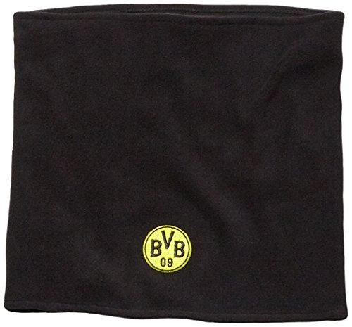 PUMA Schal BVB Neck warmer, Black/Cyber Yellow, One size, 052716 01