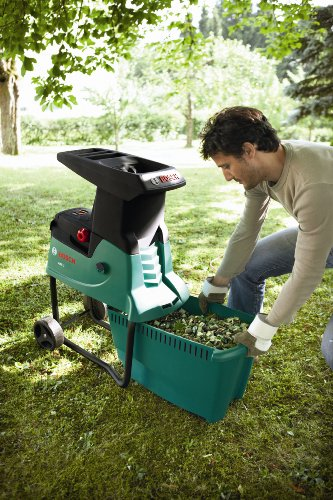 Bosch AXT25D Review.  Shredder folded for storage