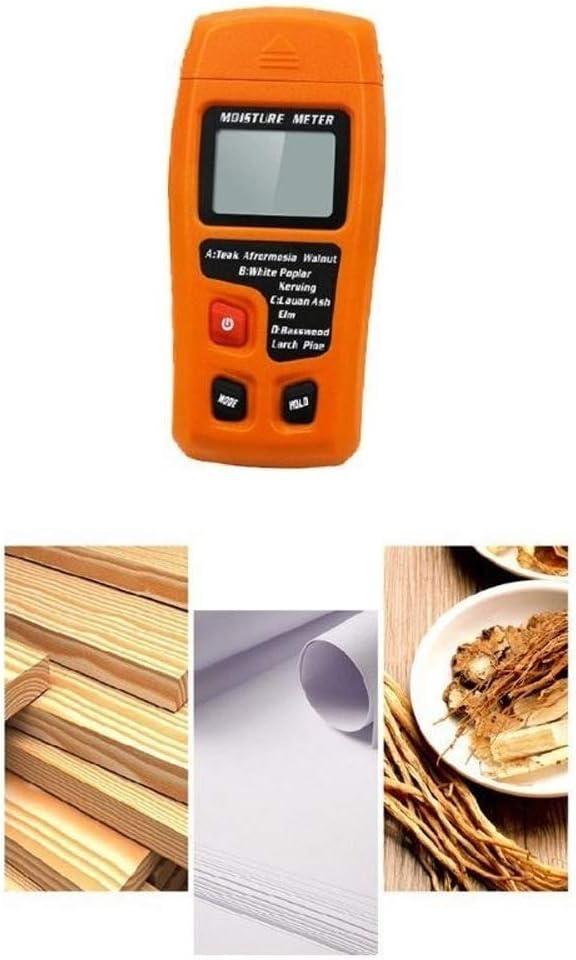 Selling rankings CHUNSHENN Portable Moisture, Moisture 0-99.9% Meter D Branded goods Handheld