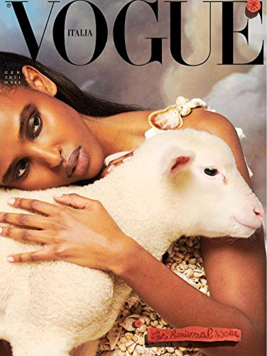 Vogue italia Magazine - January 2021 - the Animal issue