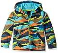 Burton Kids Crown Bonded Full Zip Hoodie, Summit Stripe, 3T