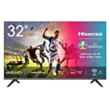 Hisense 32AE5600FA Smart TV Android, LED HD Ready 32', Design Slim, USB Media Player, Tuner...