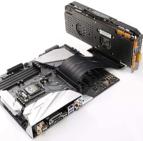 Ziyituod PCIe Riser Kable, GPU Riser Express Kits 16X bis 1X,Kompatibel mit GTX RTX Serie, Radeon Serie Grafikkarte