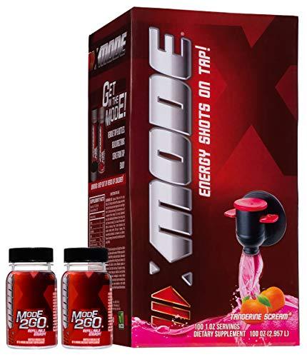 XMODE Energy Shots on Tap (100 Servings, Tangerine Scream)