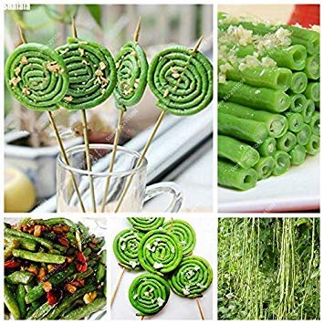 Vistaric 30pcs / sac délicieux long haricot graines rare héritage comestible bonsaï en pot légume en pot pour la maison jardin plantation