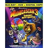 Madagascar 3: Europe's/ [Blu-ray] [Import]