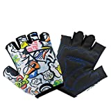 VMFTS Kids Gloves Toddler Boy and Girls Gloves 4 to 13 Year Old Childrens Grip Gloves for Monkey Bars,Cycling, Riding, Climbing, Scooter ,Training,Golf (S)
