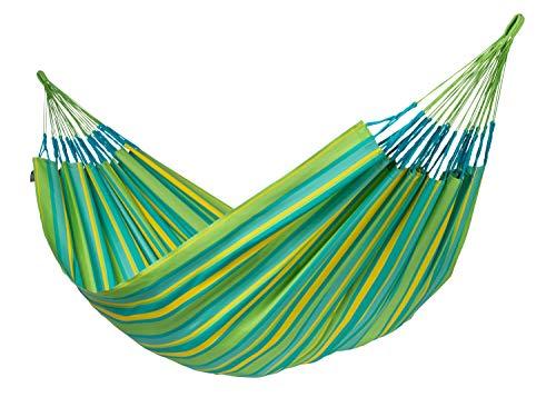 LA SIESTA Brisa Lime - Weather-Resistant Kingsize Classic Hammock