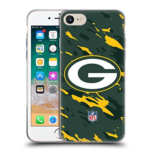 Head Case Designs - Carcasa de gel para iPhone 7, iPhone 8, iPhone SE 2020, diseño de camuflaje