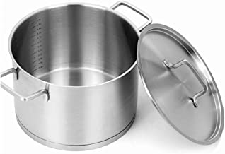 SHYPT Cookware Set- Nickel Free Stainless Steel Pots and Pans Set - Healthy Cookware Set Stainless Steel - Non-Toxic Induc...
