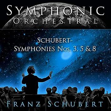 Symphonies, No. 3, 5 & 8