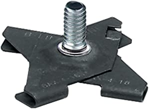 Panavise 863 CCTV T-Bar Ceiling Clip Base (Black)