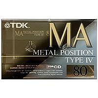 TDK MA 80 メタルポジション 80分 MA-80R