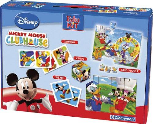 Clementoni - 12616 - Jeu Educatif - Edukit - La Maison De Mickey