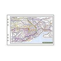 レイメイ藤井 ダヴィンチ リフィル 広域鉄道路線図 聖書 DR353 (2パック)