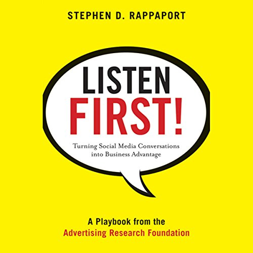 Listen First! cover art