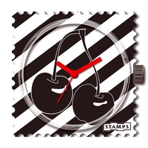 S.T.A.M.P.S 711160 - Reloj analógico unisex de cuarzo con correa multicolor