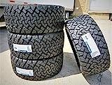Set of 4 (FOUR) Venom Power Terra Hunter X/T All-Terrain Off-Road Light Truck Radial Tires-33X12.50R20LT 33X12.50X20 33X12.50-20 119R Load Range F LRF 12-Ply BSW Black Side Wall