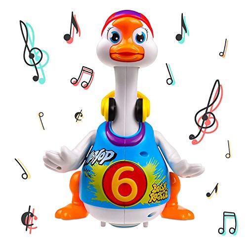 Think Gizmos Juguetes de Aprendizaje Musicales para niños pequeños (Hip Hop Goose)