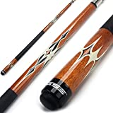 GSE Games & Sports Expert Billardqueue, kanadischer Ahorn, 147,3 cm, 4 Farben, 510-595 g, Braun –...