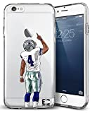 Epic Cases iPhone 6/6s Case for Apple iPhone, Ultra Slim Transparent Dominate The Football Gridiron Series - DAK #4, Clear (iPhone 6) / (iPhone 6s)