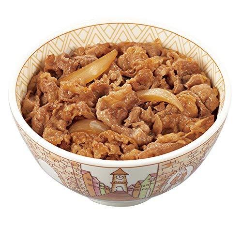 すき家 牛丼の具 5パック (135g×5) 並盛 冷凍食品