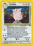 Pokemon Singles - Clefable - 1/64 - Holo - Unlimited - Jungle
