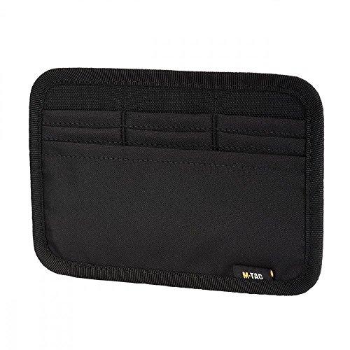 MTac Tactical Bag Insert Modular Organizer Utility Admin Pouch Hook Fasteners  Wallet Black