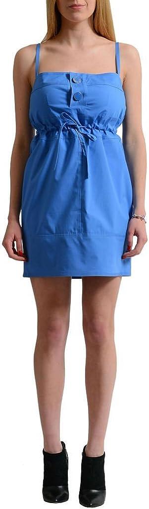 DSQUARED2 Blue Women's Spaghetti Straps Sheath Dress