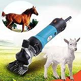 Cesoie pecore elettriche Clippers 350W, velocità elettrica CIMATRICE, cesoie elettriche Lana veloce ed efficiente, può essere utilizzato per Trim Pelo animale come lana, crine di cavallo, Conigli