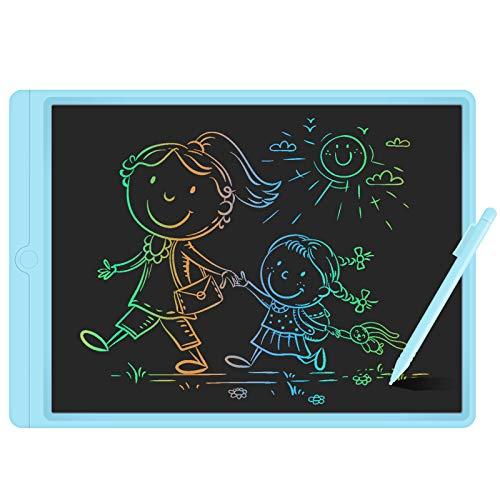 GUYUCOM Tableta de Escritura LCD de 13.5 Pulgadas, Pizarra Digital para Niños, Pizarra Magica de Líneas Brillantes y Coloridas para Niños, Excelentes Tablet para Dibujo Niños para Niños y Niñas