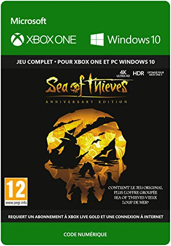 Sea of Thieves: Anniversary Edition | Xbox One/Win 10 PC - Code jeu à télécharger