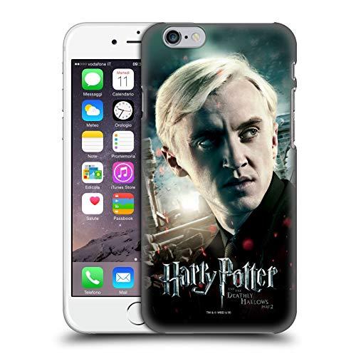 Head Case Designs Ufficiale Harry Potter Draco Malfoy Deathly Hallows VIII Cover Dura per Parte Posteriore Compatibile con Apple iPhone 6 / iPhone 6s