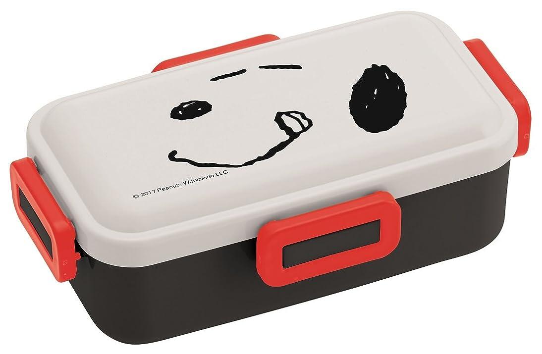 ぴかぴか延期する味付けスケーター ふんわり盛れる ドーム型フタ 弁当箱 530ml スヌーピー フェイス PEANUTS 日本製 PFLB6