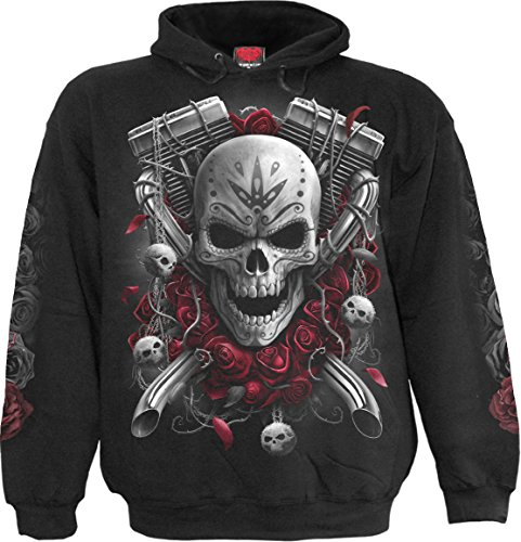 Spiral - Mens - DOTD Bikers - Hoody Black - XL