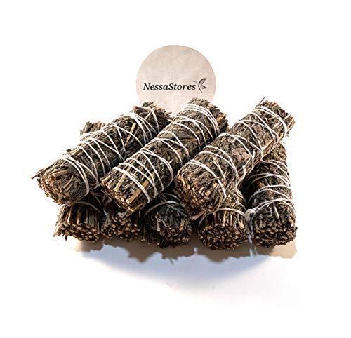 NESSASTORES - Lavender Smudge Incense 4' Bundle #JC-144 (8 pcs)