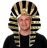 Tigerdoe Pharaoh Hat - Egyptian Headpiece - King TUT Costume - King Pharaoh Costume