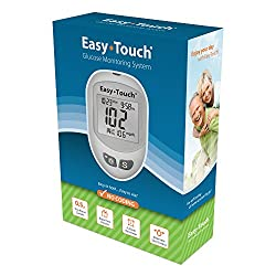 small EasyTouch Glucose Monitoring System – (1 meter, 10 rotatable lancets, 1 puncture device per box)…
