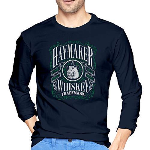 Haymaker Men's T-Shirt Band Shirt Fashion Retro Music Crew Neck Tee