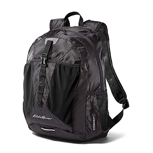 Eddie Bauer Unisex-Adult Stowaway Packable 30L Pack, Onyx Regular ONESZE