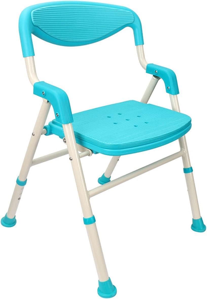 ZQYYUNDING It is very Milwaukee Mall popular Shower Chair Adjustable Stool Bathroom