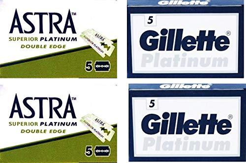 Lamette da barba Astra Platinum e Platinum