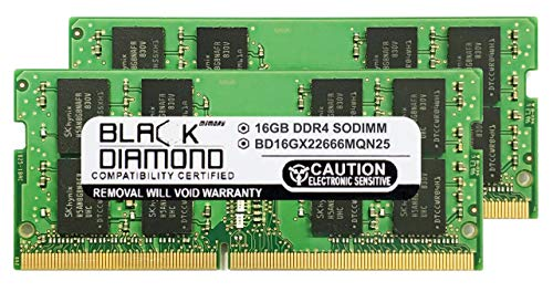 32GB Kit(2X16GB) Memory RAM Compatible for MSI (Micro Star) Laptop GP72X Leopard-667,GE62 6QF Apache Pro,GL62M 7REX,WT72 6QM-423US,GE62 6QL Apache,GF72VR 7RF-650,PE62 8RD-037,GS63VR Stealth Pro-230,